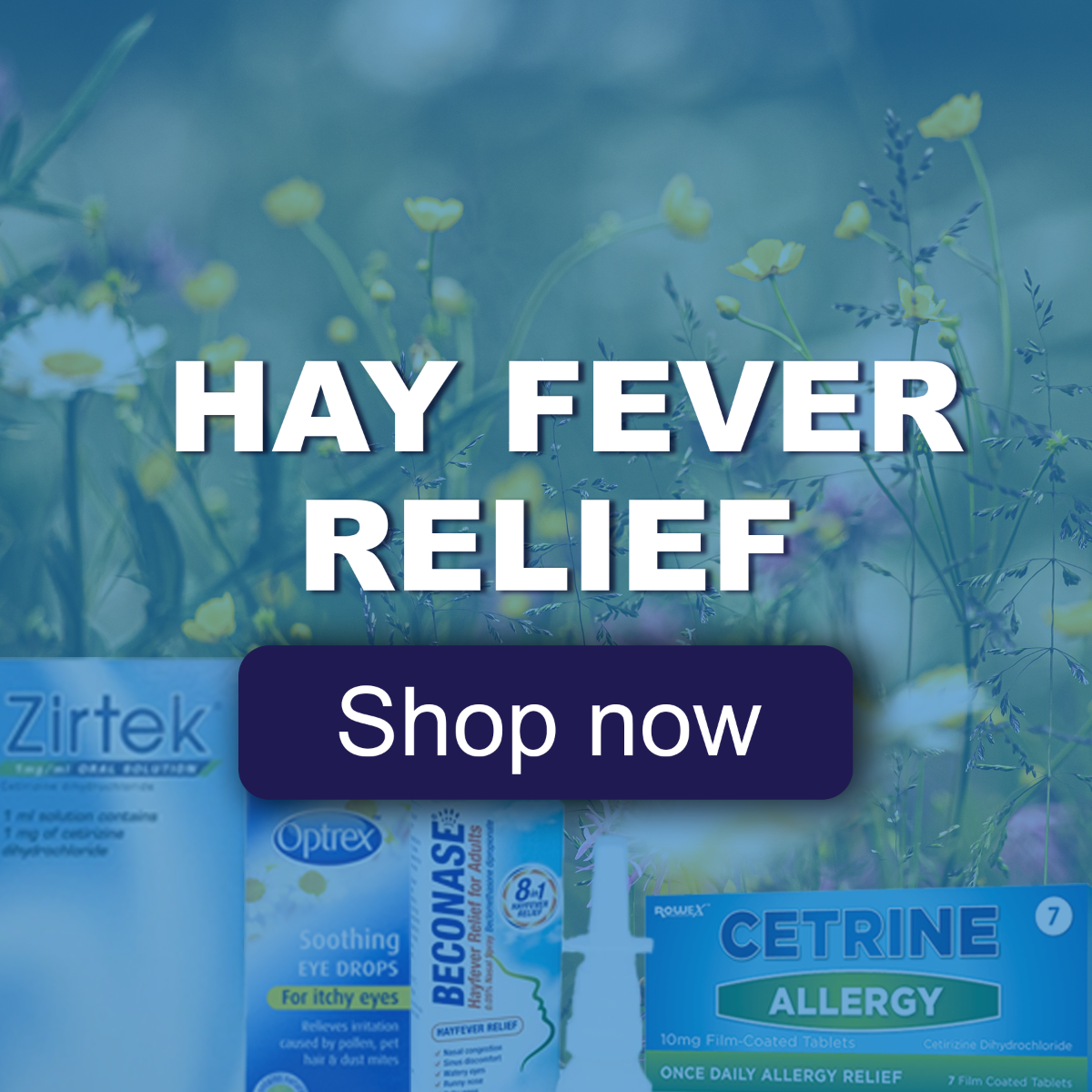 Hay fever square